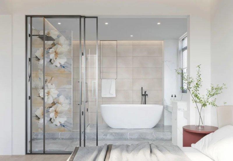 伊莉莎白瓷砖产品 高颜值卫生间设计搭配效果图_18