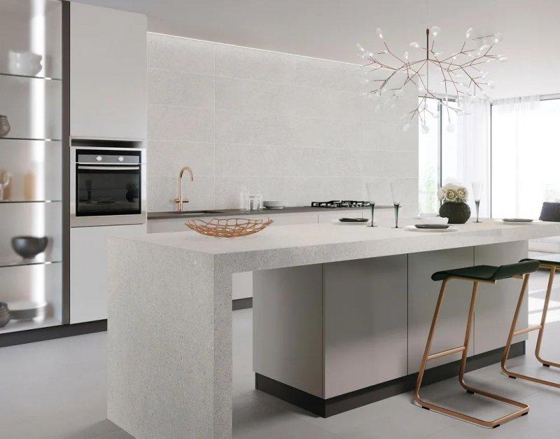 伊莉莎白瓷砖产品 开放式厨房装修效果图_2