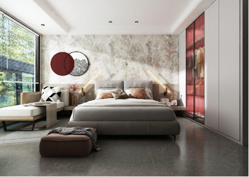 欧神诺瓷砖:14款高颜值的卧室设计尽显高级!_6