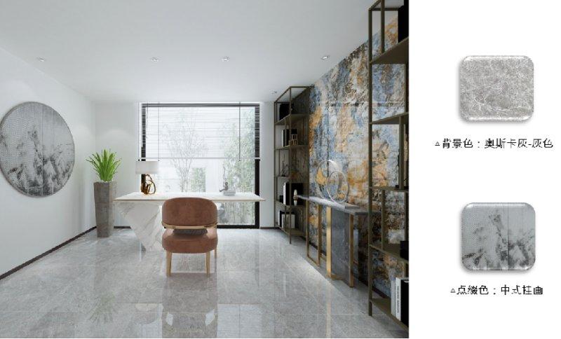 欧神诺瓷砖2022新中式配色美学让家美而高级_6