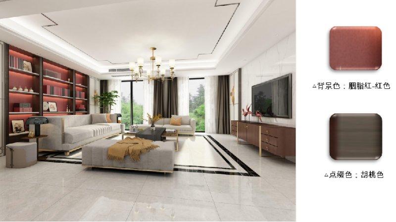 欧神诺瓷砖2022新中式配色美学让家美而高级_7