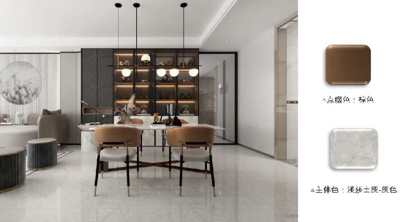 欧神诺瓷砖2022新中式配色美学让家美而高级_9